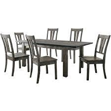 white wood dining set 7 piece wood dining set white wood dining chairs uk