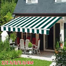 details about 2 2 5 3 3 5 4m patio awning retractable shelter outdoor garden sun shade canopy