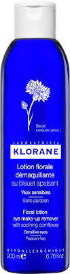 klorane sensitive eye makeup remover lotion mugeek vidalondon smoothing and relaxing patches with soothing cornflower fl