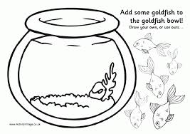 Small Picture fish bowl coloring page fish bowl coloring pages clipart best draw