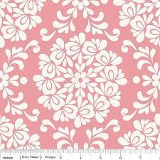 Priscilla Ball Pink, Priscilla, Riley Blake Fabrics, 1/2 Yard   Riley blake  designs, Paper background design, Riley blake fabric