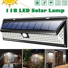 <b>100LED Solar PIR</b> Motion Sensor 3-Mode Light Outdoor Garden ...