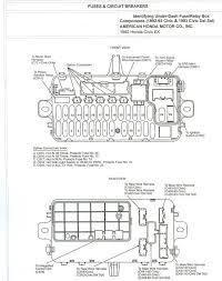 97 honda civic fuse block diagram wiring diagrams schematics 2002 Honda Civic Fuse Diagram at Honda Civic Fuse Box Diagram 2003