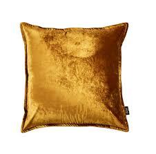 Kissen Gold Samt