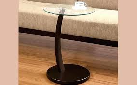 round glass top sofa table round glass top with wooden leg espresso glass top coffee table