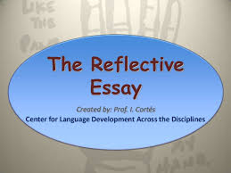 the reflective essay final