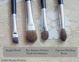 basic eye makeup brushes for beginners