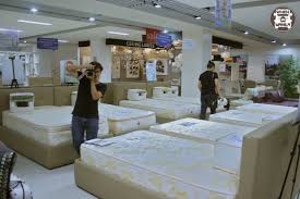 our first stop in mandaue foam las pinas was the mattress testing area where people can as the name suggests test out the diffe mattresses available