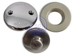 two hole tub drain trim kit
