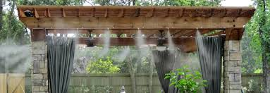 Fantastic Patio Misting Systems With Patio Misting Systems Water Backyard Misting Systems
