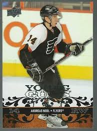 Andreas Nodl 2008-09 Upper Deck YG RC Card# 483 | eBay