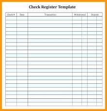Check Register Printable Printable Check Register Template Kids Free Checkbook For