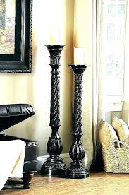 floor pillar candle holders standing holder tall large hurricane