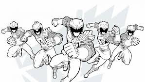 Impressive Power Rangers Colouring Pages Thunder Coloring Pink