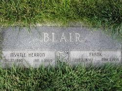 Myrtle Herron Blair (1880-1969) - Find A Grave Memorial