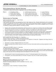 Sample Resume Objectives For Teachers Resume Objective Science Teacher Teaching Objective Resume 43