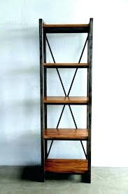 wood and metal shelves tall wood and metal wall shelving unit rustic rh youyouhui club rustic