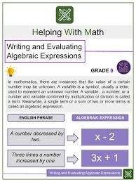 algebra worksheet solving simple