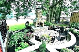 cost of outdoor fireplace how much does an replace on porch labor to install gas indoor
