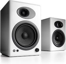 computer speakers white. audioengine a5+ (white) premium powered bookshelf speakers at crutchfield.com computer white m