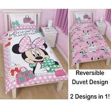 Kids Bedroom Bedding Disney Mickey Or Minnie Mouse Single Duvet Cover Sets Kids Bedroom