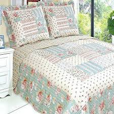 Quilts Of Valor Logo Quilts And Coverlets Modern Quiltshops Com ... & Quilt Coverlet Set Twin Twin Xl Single Size Country Cottage Floral  Patchwork Pattern Green Cream Quilts Adamdwight.com