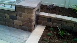 Seating Wall Blocks Oxnard Landscape Design Pavers Patio Concrete Retaining Wall