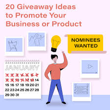 20 Giveaway Ideas To Promote Your Business Or Product