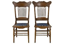 best free oak pressed back chairs photos