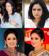 sridevi kapoor without makeup vs with makeup