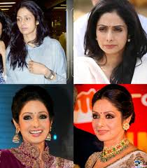 sridevi kapoor without makeup vs with makeup