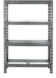 metal rack gladiator heavy duty rack shelf hammered granite larger front metal rack shelf philippines