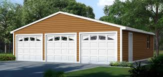3 car garage standard elevation cover