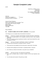 19 Complaint Letter Examples Pdf Examples