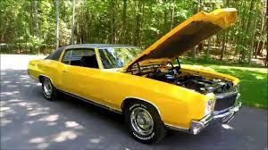 1971 Monte Carlo 454 SS - YouTube