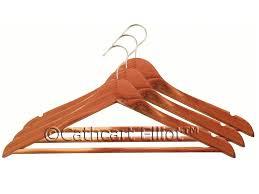 cedar wood coat hangers 10 pack
