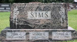 Minnie Louisa Johnson Sims (1870-1962) - Find A Grave Memorial