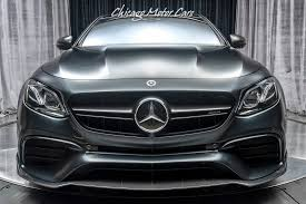 Consider, by comparison, mercedes' own amg gle63 s. Used 2018 Mercedes Benz E63 S Amg 4 Matic Sedan Msrp 137k Edition One 25k In Upgrades For Sale Special Pricing Chicago Motor Cars Stock 16427