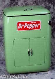 """Dr Pepper Vending Machine For Sale Amazing Guiberson Dr Pepper """"48"""" Icebox"""