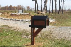 Wood Mailbox Designs Utrails Home Design Choosing So You Mailbox