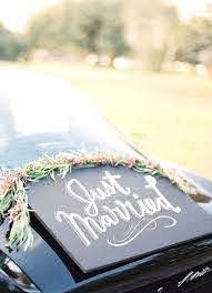 Indian Wedding Car Decoration Ideas that are Fun and Trendy - Blog in 2020  | Wedding getaway car, Wedding car, Wedding car decorations