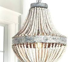 full size of wooden bead chandelier pottery barn wood uk diy white amazing empire home improvement