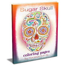 Sugar Skull Coloring Pages Art Is Fun