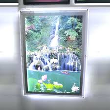 backlit frame led picture light box mounted acrylic photo frames in advertising lights from lighting on group uk