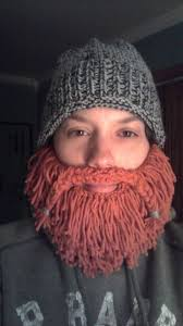 Beard Hat Pattern Knit
