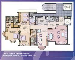 apartment 3 bedroom. creek vistas apartments karachi \u2013 3 bedroom apartment floor plan