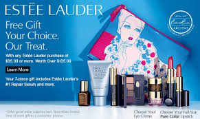 estee lauder gift with purchase at