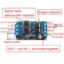 <b>MOS Tube FET</b> Trigger Drive Switch Module PWM Adjust Control ...