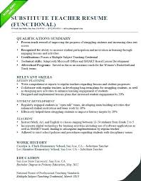 Sample Professional Summary Resume For Templates On Of