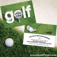 Golf Invitation Template A Selection Of Golf Themed Party Invitations Any Of These Golf